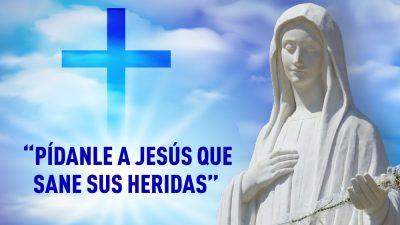 Sanación interior píndale a Jesús que sane sus heridas
